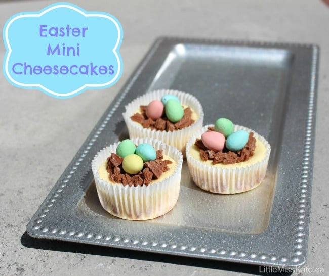 Easter Mini Cheesecake