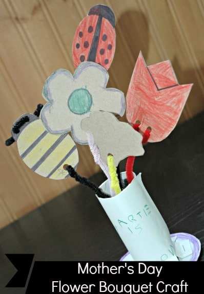 Mothers-Day-Flower-Bouquet-Craft-for-Kids