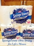A NEW Strong Man is Taking Over Canadian Grocery Shelves! NEW SpongeTowels Ultra Strong #Giveaway {CAN}