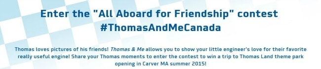 Thomas and Me Contest