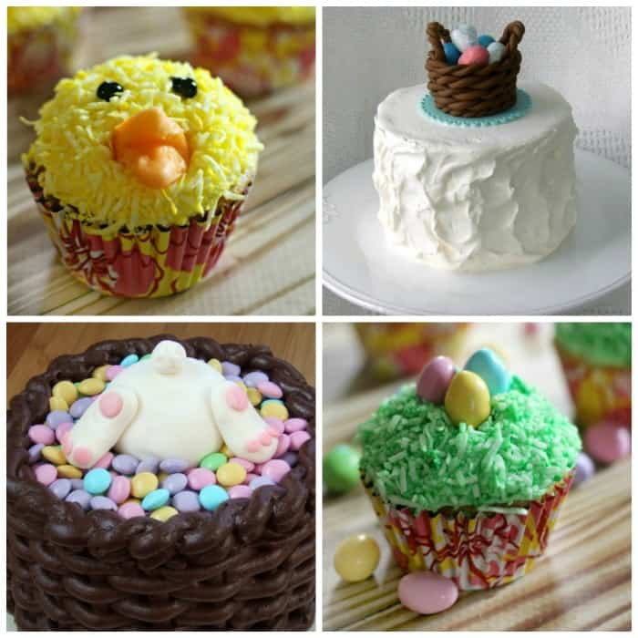 The cutest Easter cakes and cupcakes perfect for Spring