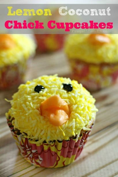 lemon chick cupcakes