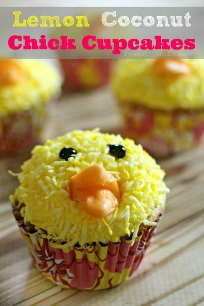 lemon chick cupcakes