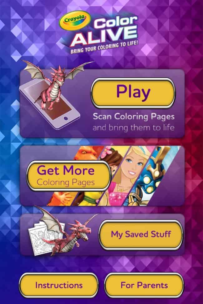 Colour Alive App
