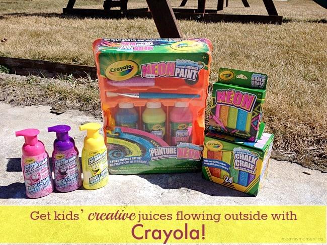 Crayola outside