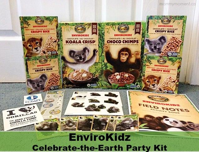 EnviroKidz Earth Day Party Kit