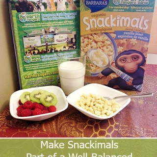 Make Snackimals Part of a Well-Balanced Breakfast