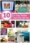 10 Easy DIY Teacher Appreciation Gift Ideas