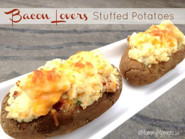 bacon stuffed potato recipe