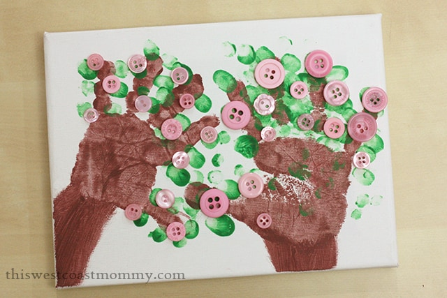 Fathers-Day-handprint-tree-craft