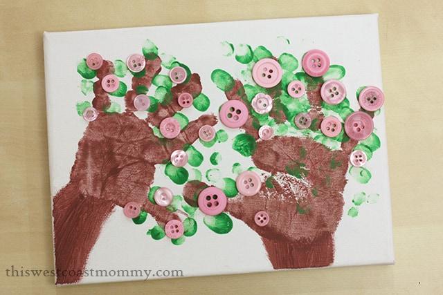 Fathers-Day-handprint-tree-craft