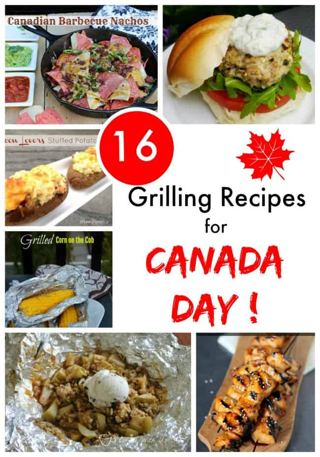 Grilling Recipes for Canada Day