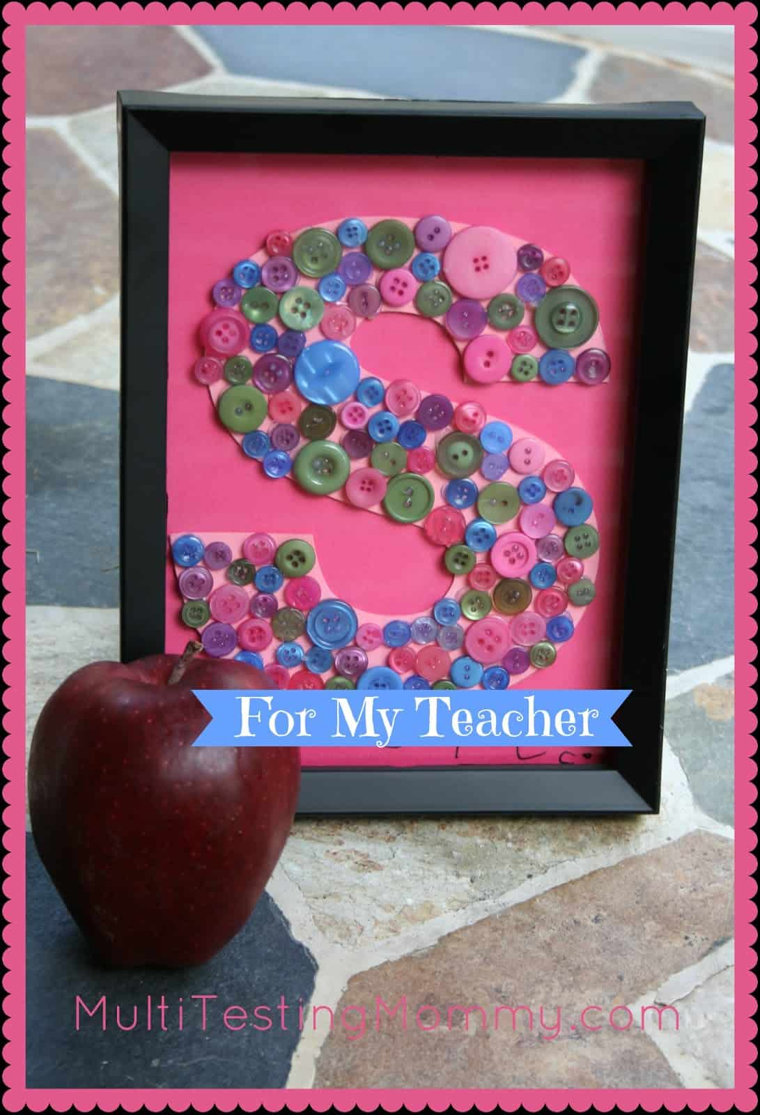 10 easy diy teacher appreciation gift ideas for Diy monogram gifts