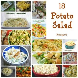 18 POTATO SALAD RECIPES FOR SUMMER!