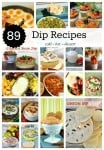 89 Dip Recipes