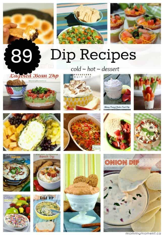 89 Dip Recipes