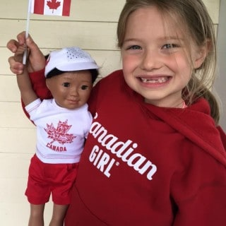 Canada Day Girl and Doll Outfits #giveaway
