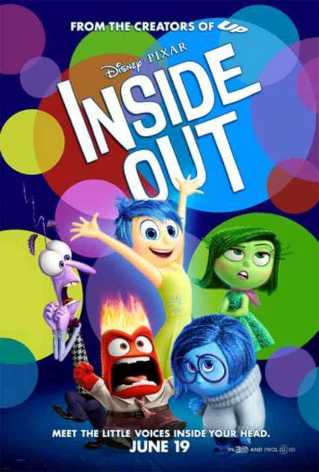 Disney Pixar Insde Out