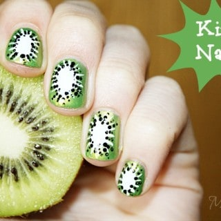 Summer Fruit Nail Art