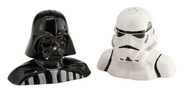 Star Wars salt n pepper shakers