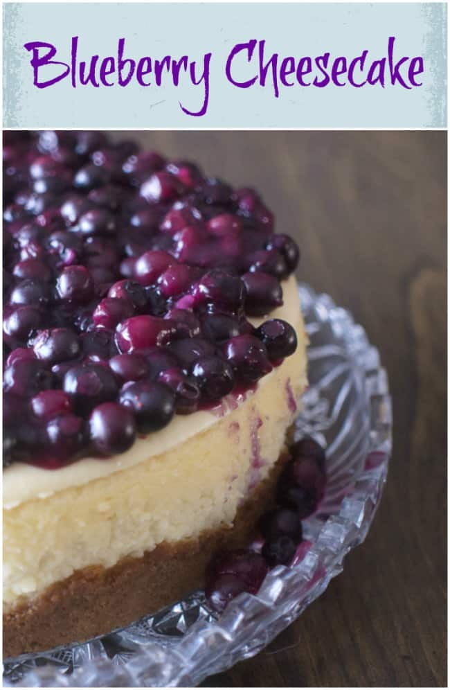 Blueberry Cake In Skillet With Lemon Sauce