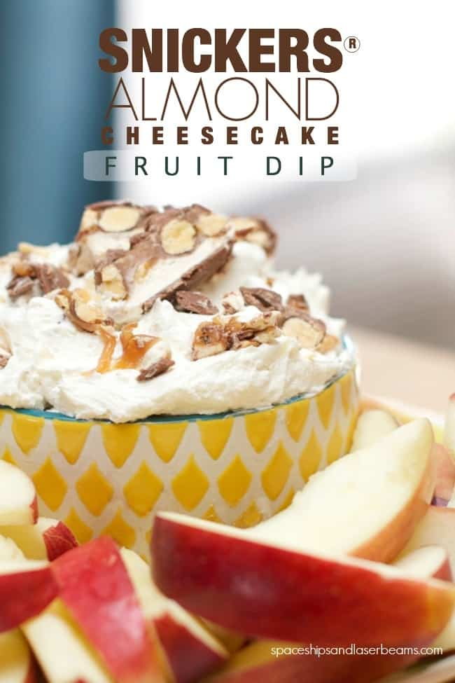 snickers-almond-cheese-cake-fruit-dip