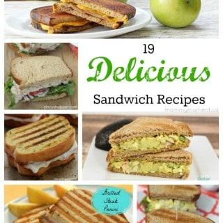 19 Delicious Sandwich Recipes