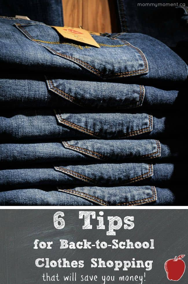 6 tips for back to school shopping