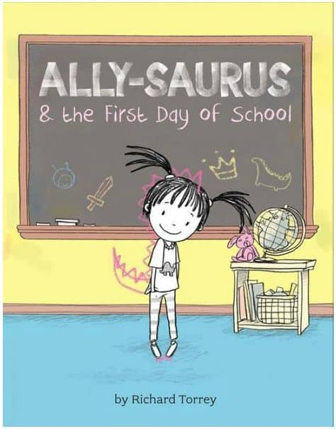 Ally-saurus the first day of school