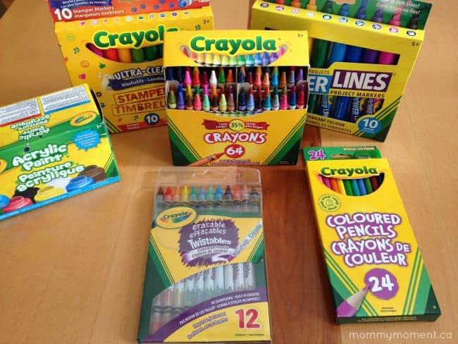 Crayola supplies