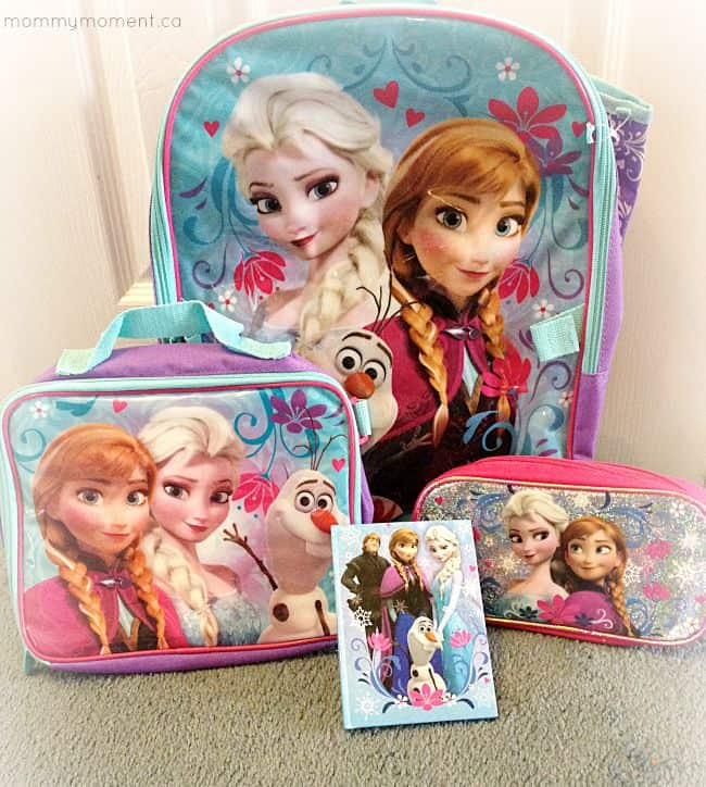 Frozen backpack set