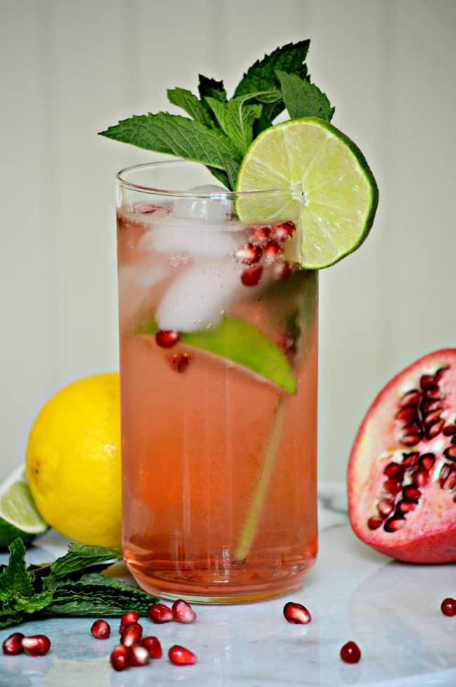 Pomegranate-Mojito