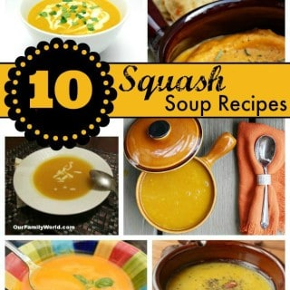 10 Squash Soup Recipes to Meal Plan this Fall!
