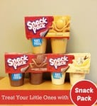 When Packing Lunches this School Year, Treat Your Little Ones with Snack Pack