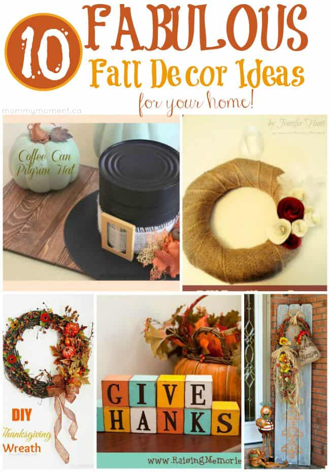 10 Fabulous Fall Decor Ideas