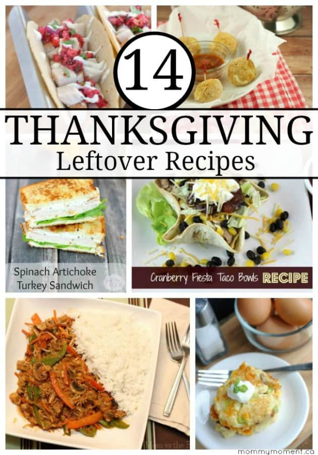 14 Thanksgiving Leftover Recipes