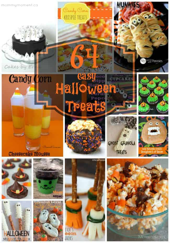 64 easy Halloween Treats