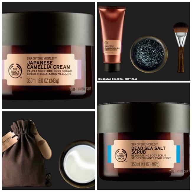 Body Shop Collage