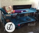Kid-O-Bunk ~ 3 in 1 mobile sleep solution for kids on the go!