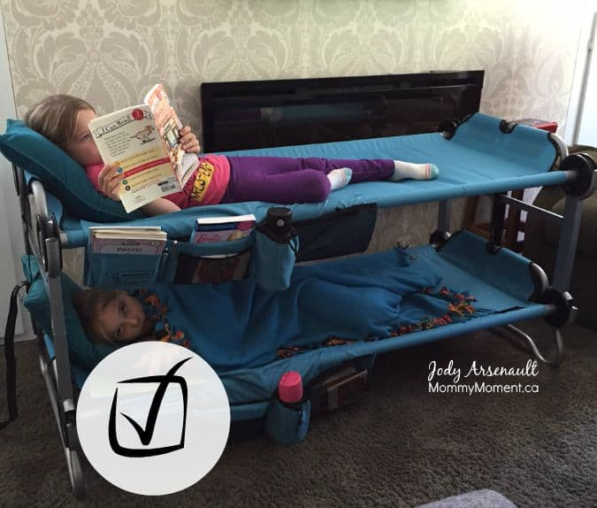 kid camping cot