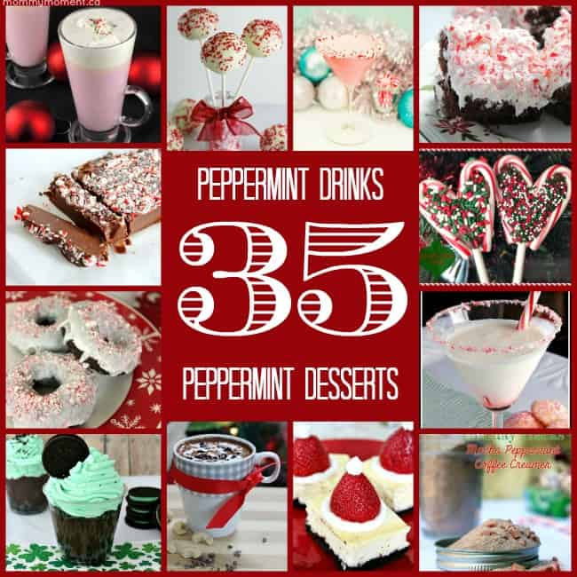 35 peppermint drinks and desserts