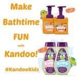 Make Bathtime FUN with Kandoo! #KandooKids