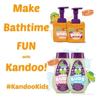 Make Bathtime FUN with Kandoo! #KandooKids