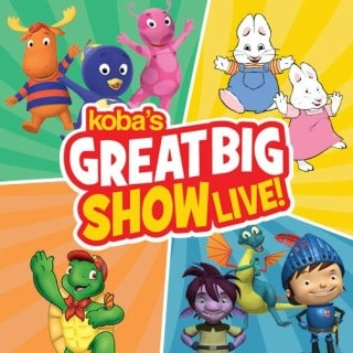 Koba's Great Big Show ~ Presale on NOW!