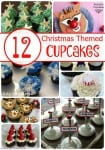 12 Christmas Themed Cupcakes for your Christmas Party