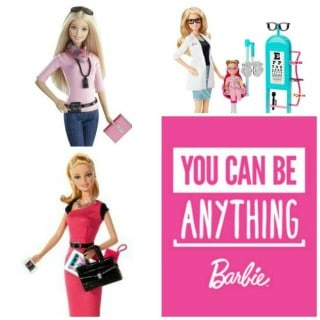 You Can Be Anything! A Celebration of Barbie #giveaway #YouCanBeAnything