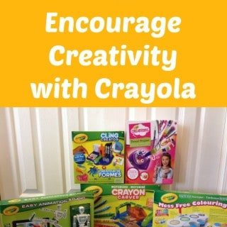 Choose Gifts that Encourage Creativity with Crayola #giveaway