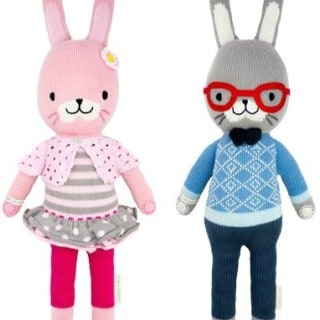 cuddle+kind – adorable, handcrafted, knit dolls that give back #31DaysOfGifts #giveaway