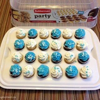 The Rubbermaid Party Serving Kit eliminates the need for multiple single-use entertaining containers!