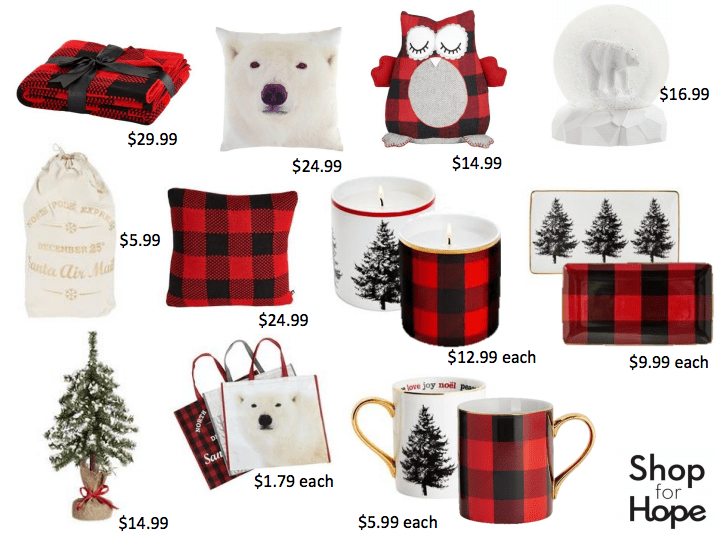 shop for hope holiday products